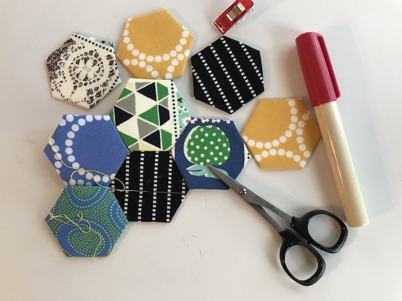Tips and Tricks for English Paper Piecing
