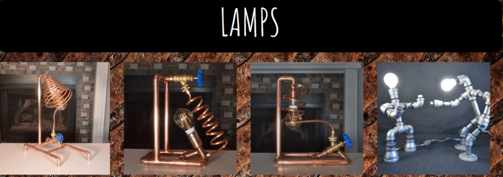 Lamps made by Troy
