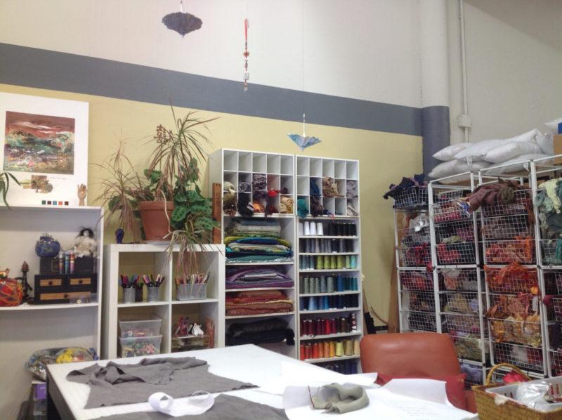 Kayla's studio