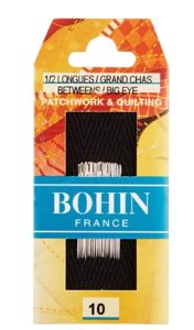 Bohin Big Eye Quilting Needles