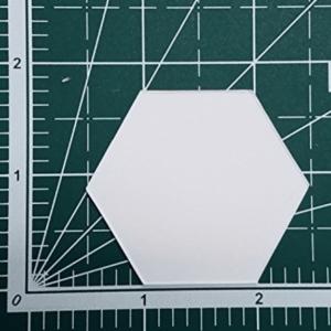 "1"" Hexagon English Paper Piecing EPP (300 Piece Set)"