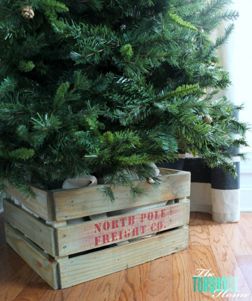Build a crate for your Christmas Tree