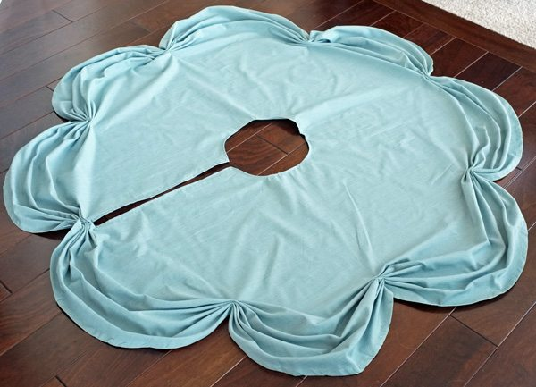 Ruched Christmas Tree Skirt
