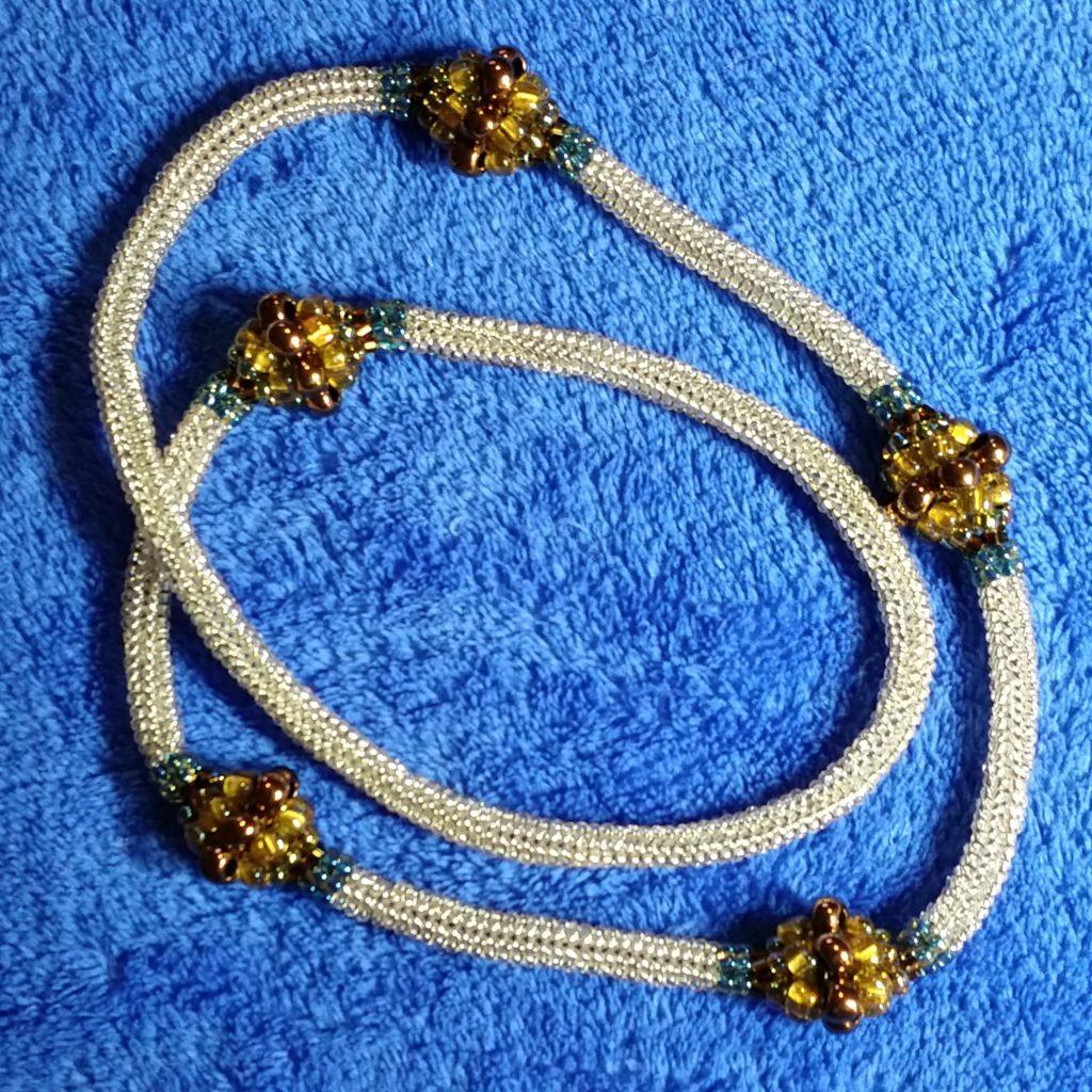 Herringone Bibble de Bobs Necklace
