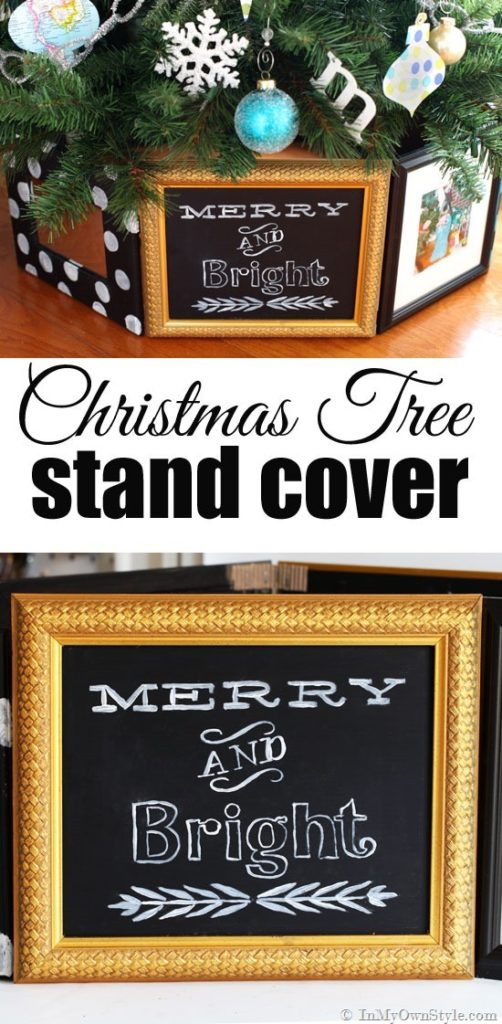 Picture Frame Tree Stand Cover