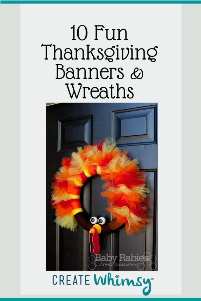 Thanksgiving Banner and Wreaths Round Up Pinterest 6