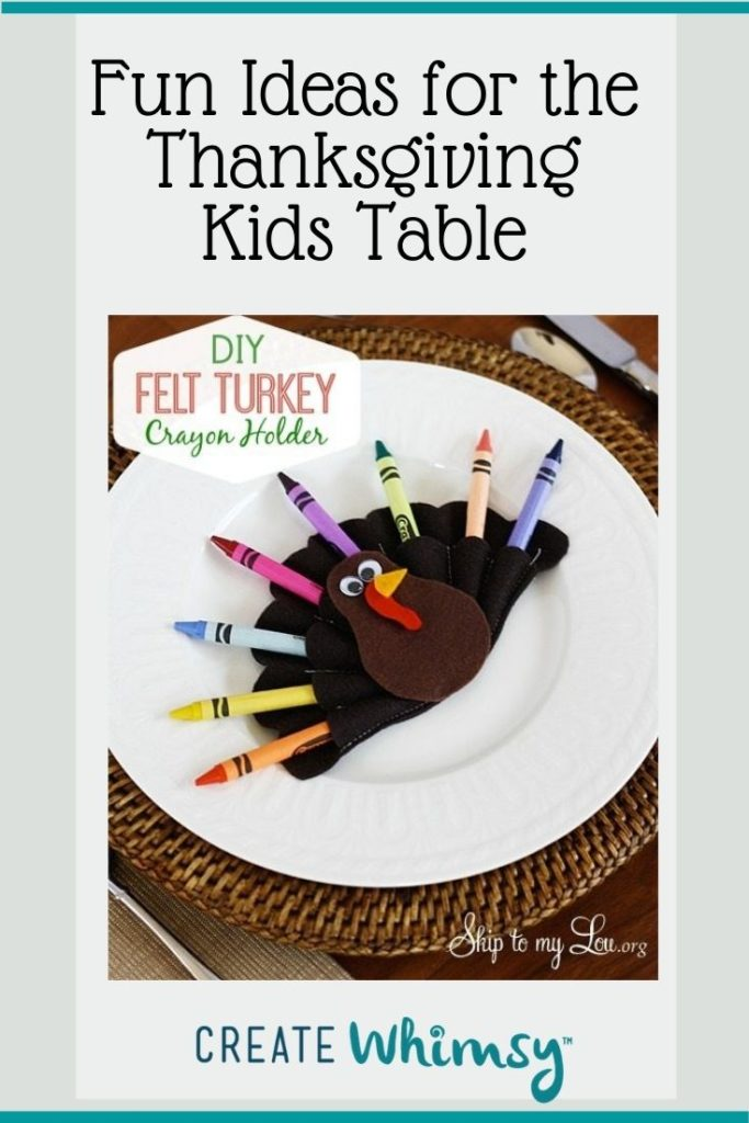 Thanksgiving Kids Table Pinterest Image 2