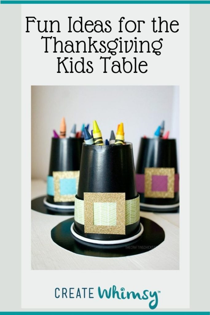 Thanksgiving Kids Table Pinterest Image 3