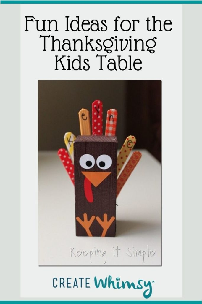 Thanksgiving Kids Table Pinterest Image 4