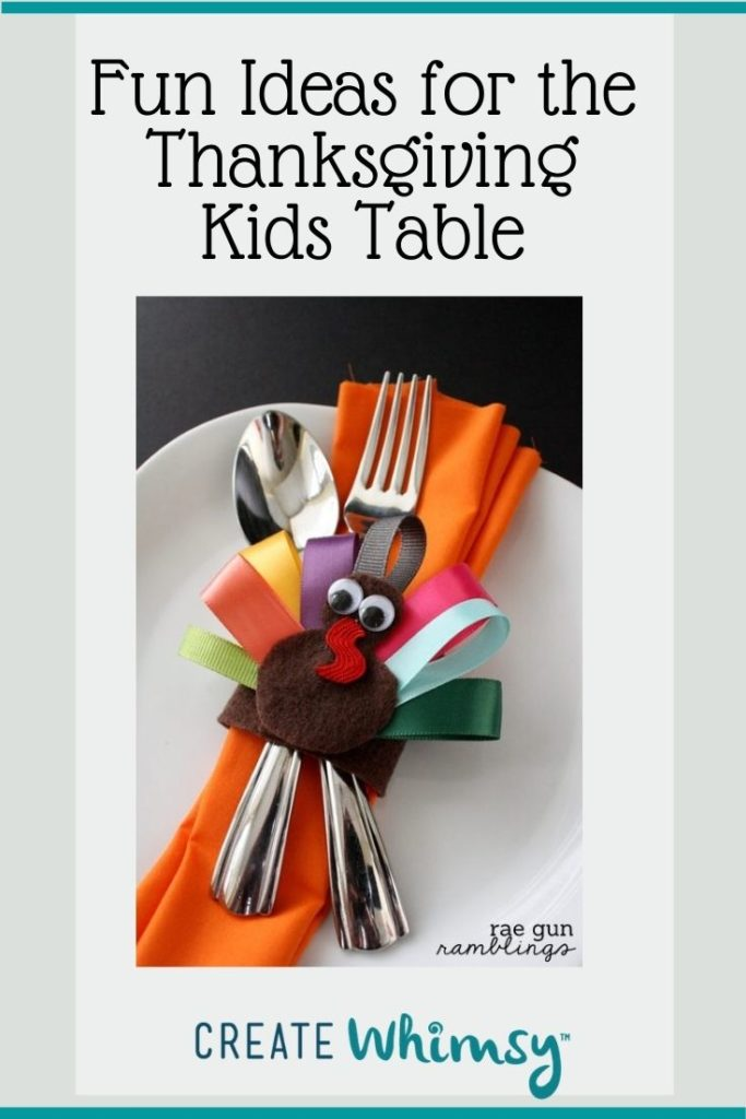 Thanksgiving Kids Table Pinterest Image 5