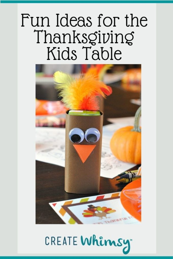 Thanksgiving Kids Table Pinterest Image 6