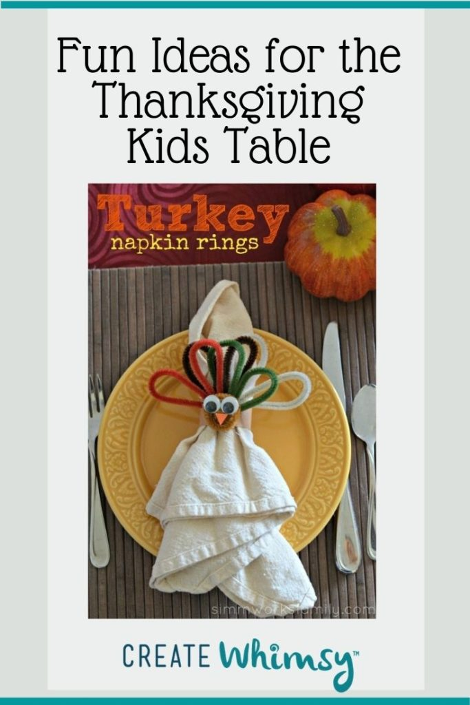 Thanksgiving Kids Table Pinterest Image 7