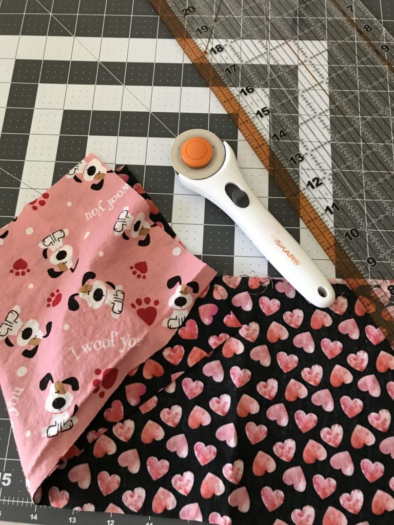Fabric for the DIY Dog Scarf