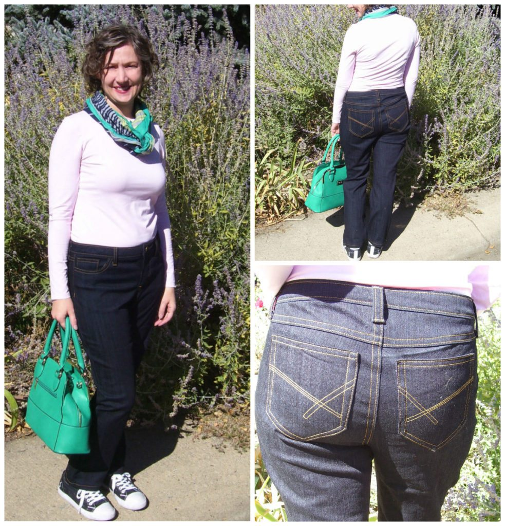 Liana Jeans pattern by Melissa Evans