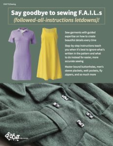 Stress Free Sewing book