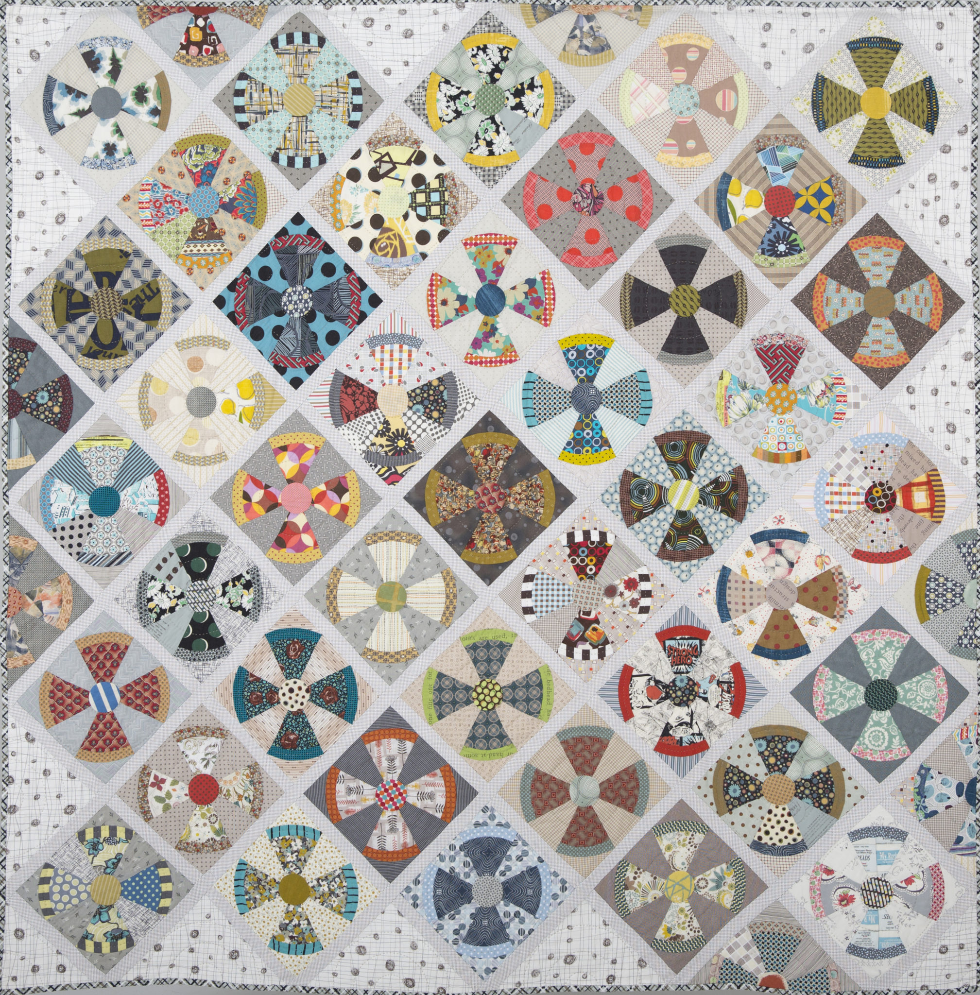Jen Kingwell: Steam Punk - Whole Quilt Photo