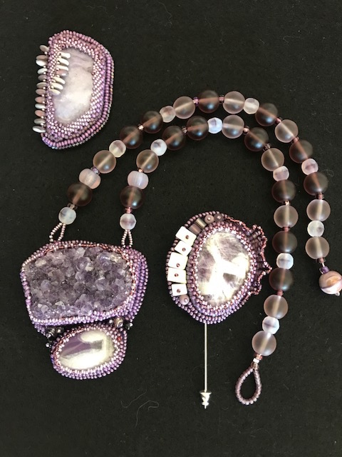 Beaded Necklace #3 by Pat