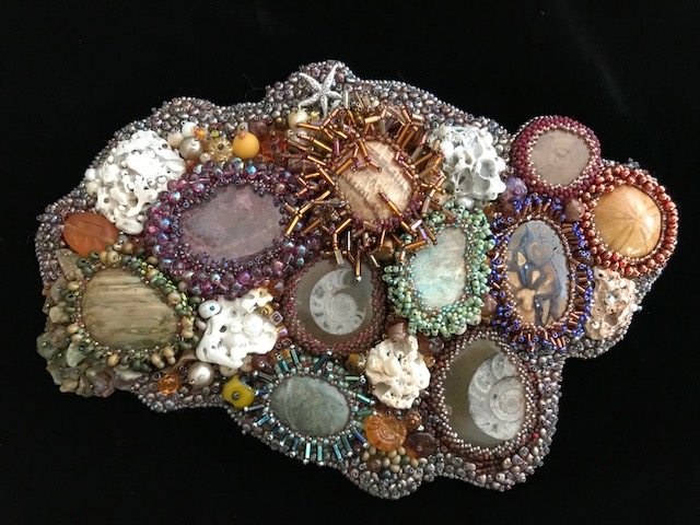 Beaded piece by Pat