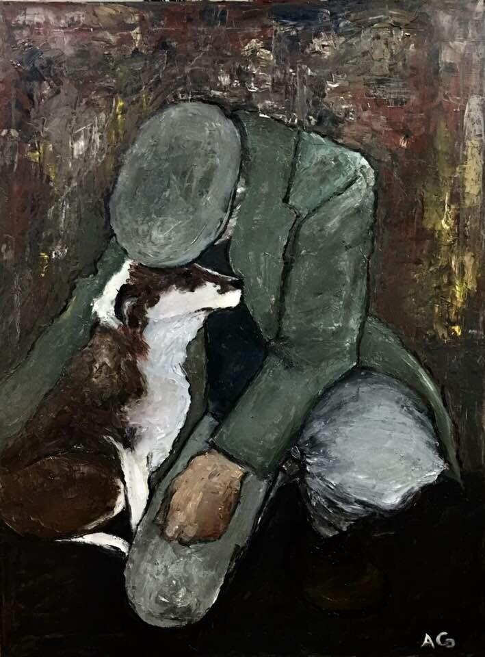 Anna Katrina Gibson painting