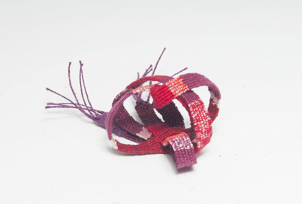 Small red weaving
