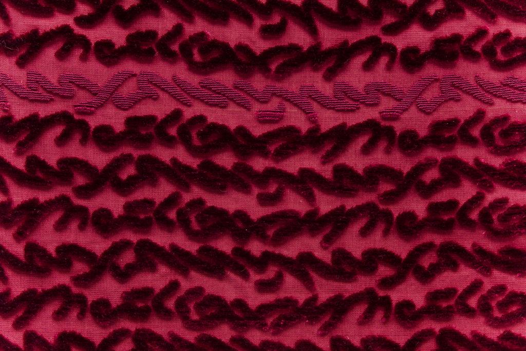 Hand cut velvet