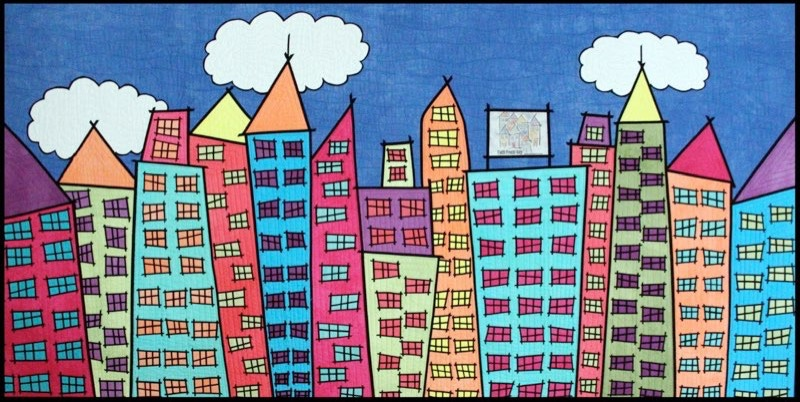 Spotlight: Sue Bleiweiss,  Artist, Author & Architect of Whimsical Worlds Created with Fabric and Thread