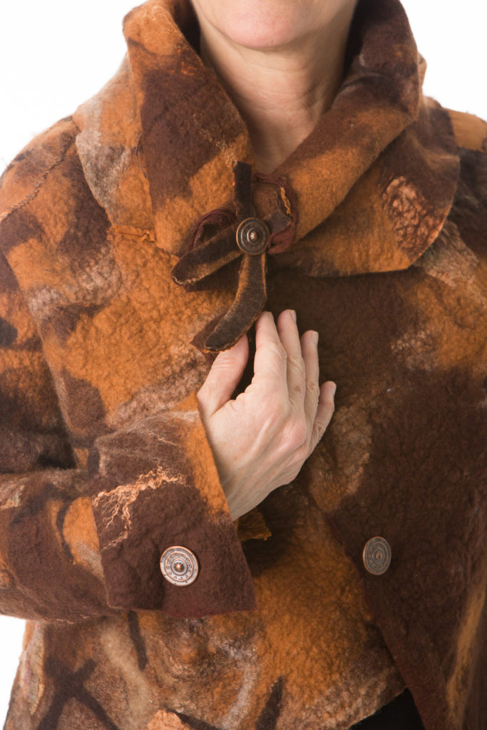 Fault Lines vest close up