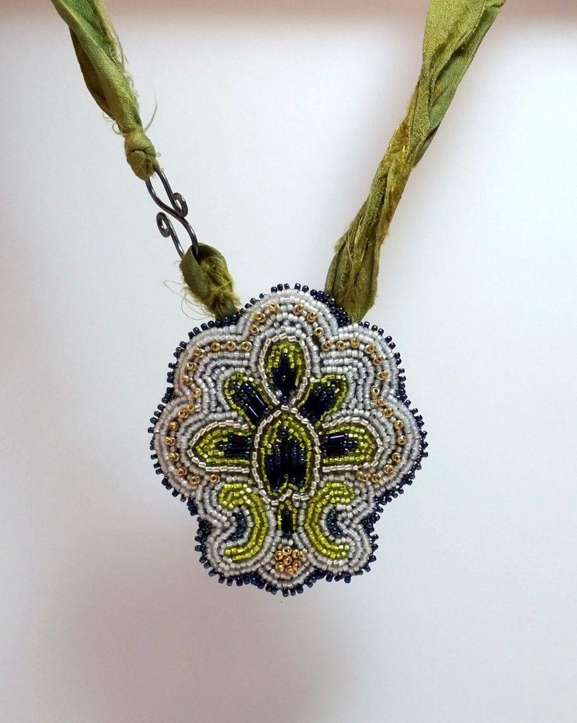 Fleur de Bead Necklace