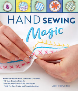 Hand Sewing Magic Book Cover