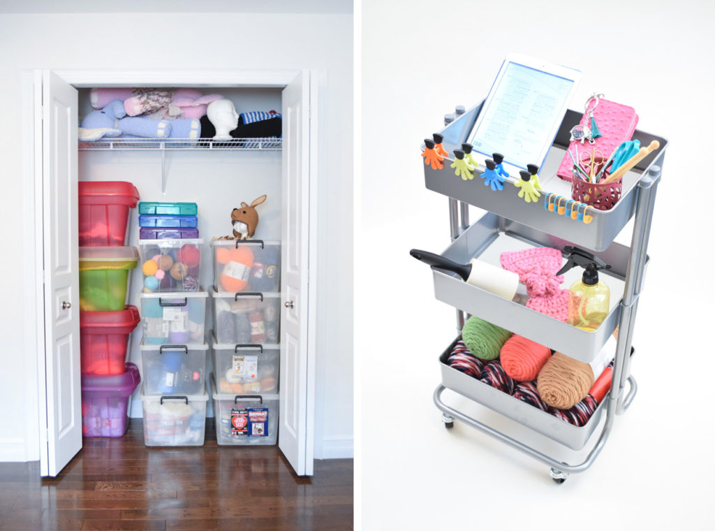Yarn organization and storage