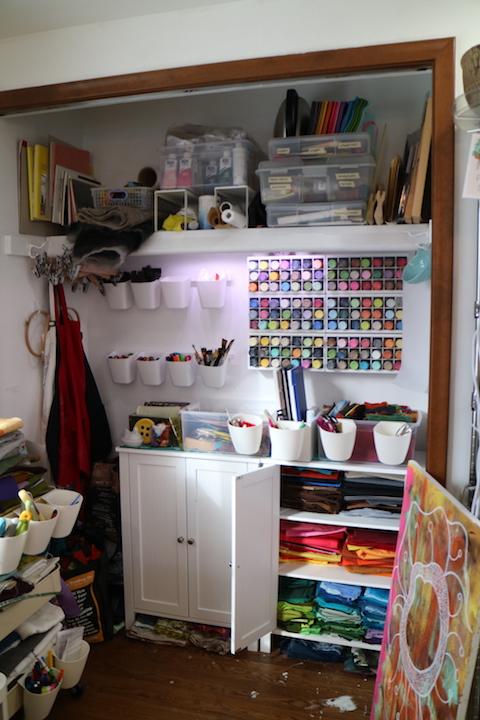 Lynn's studio