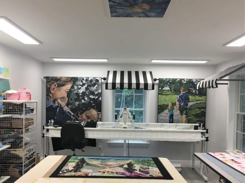 Heidi's studio