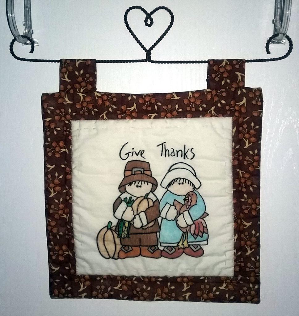 Thanksgiving Door Quilt