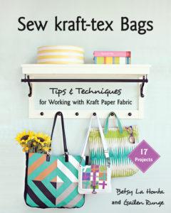 Sew kraft-tex bags by Betsy La Honta
