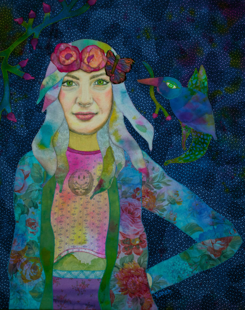 Karen Payton's Girl with Kaleidoscope Eyes