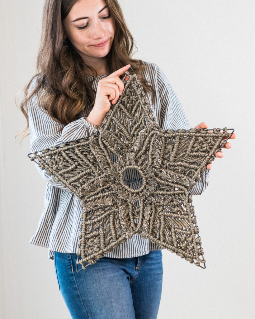 Macrame star