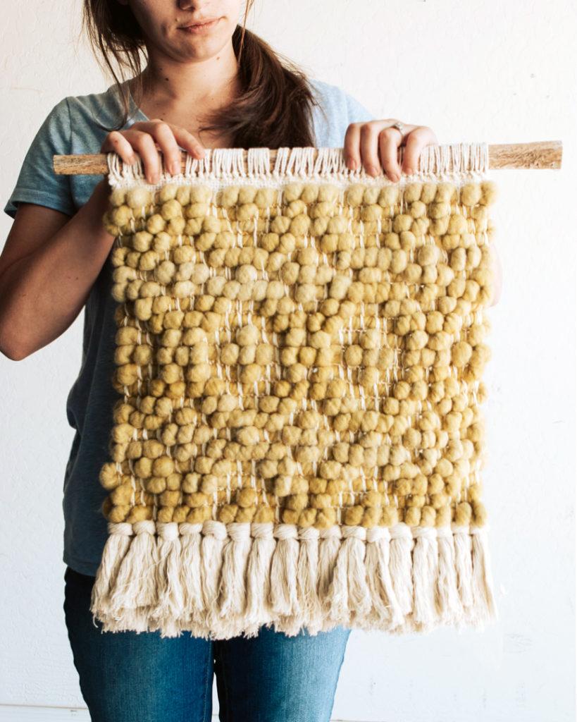 Pibione weaving