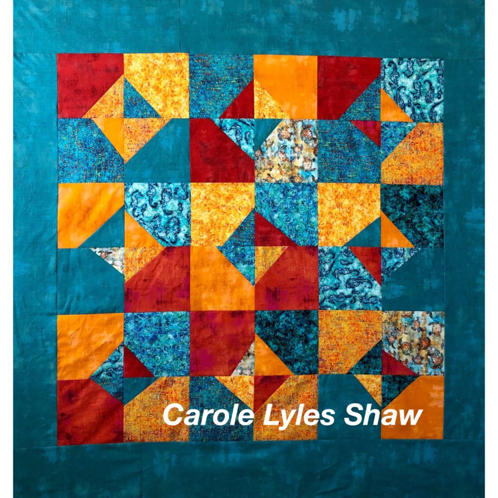 Quilt by Carole Lyles Shaw