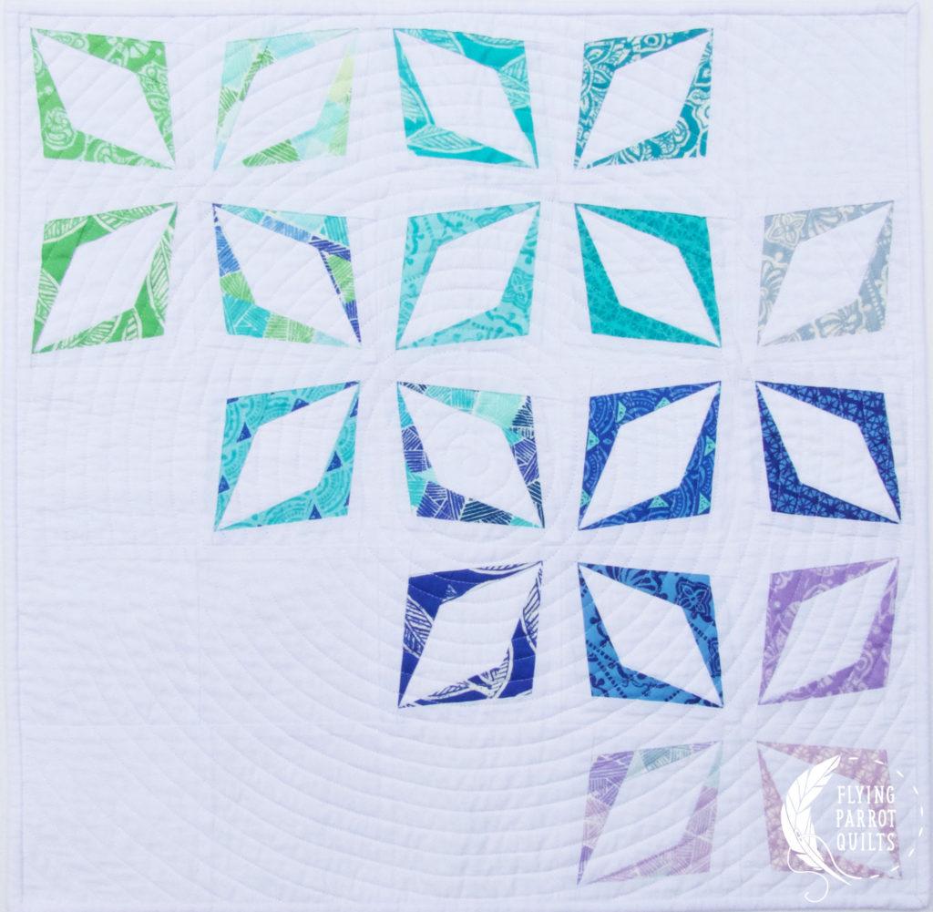 Kite Block Mini Quilt