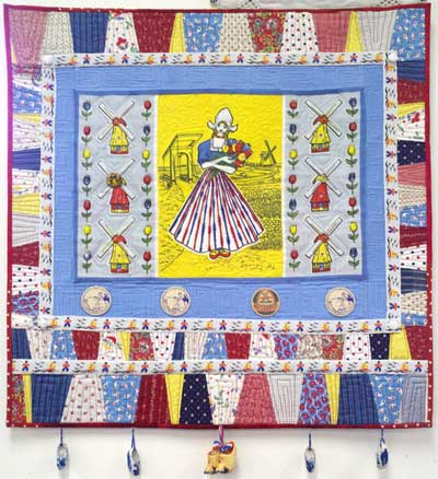 Vintage Dutch Girl quilt