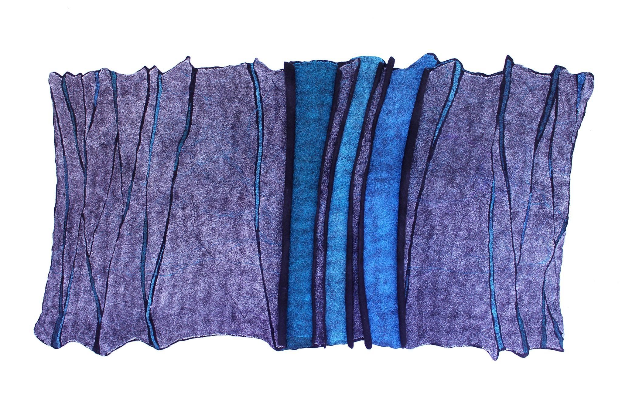 Flóra Carlile-Kovács Blue Fissure 2