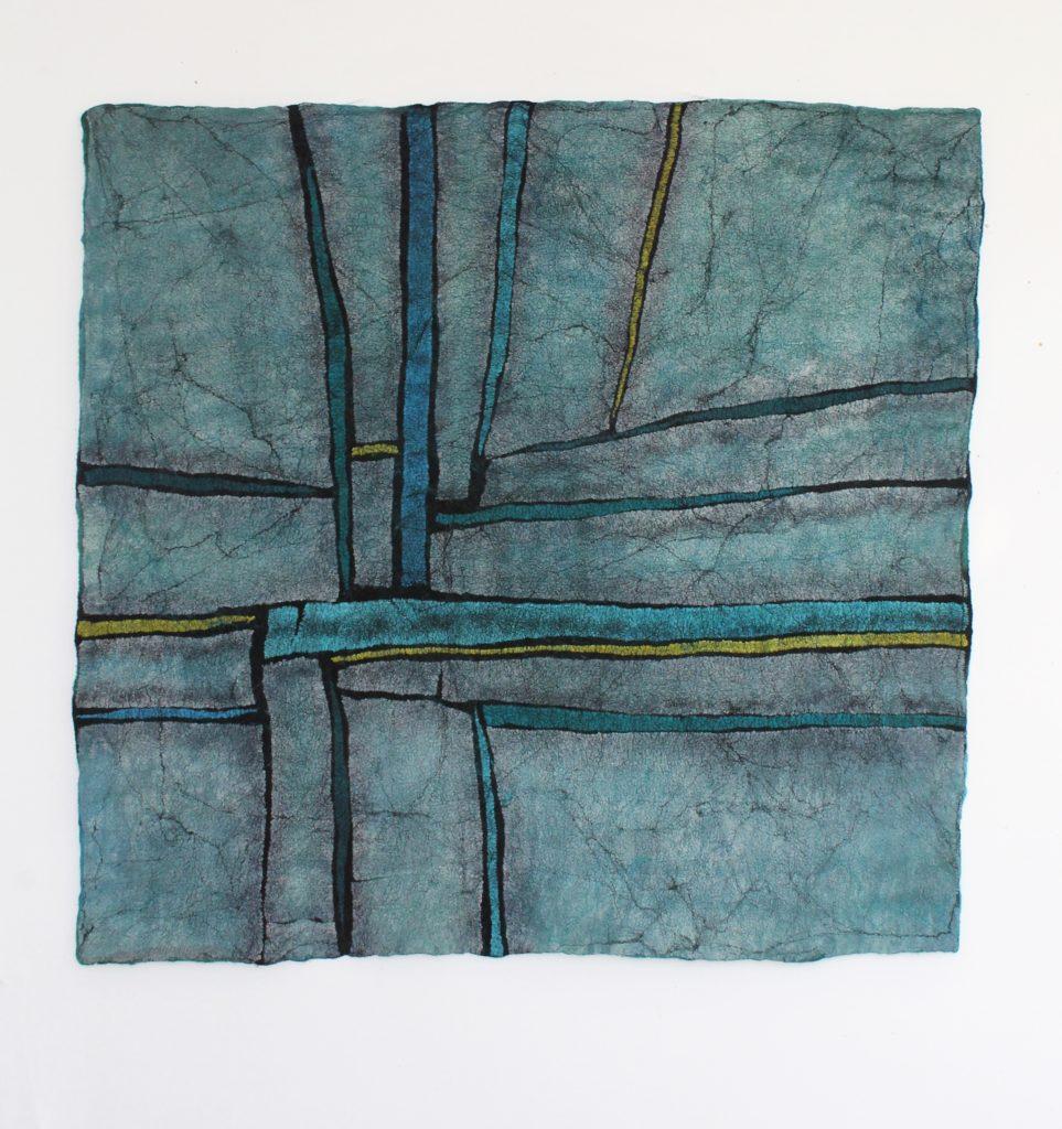 Flóra Carlile-Kovács Blue Square