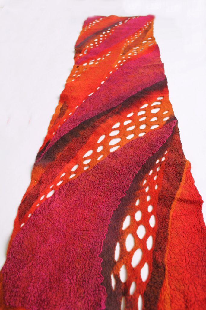 Flóra Carlile-Kovács nuno scarf india