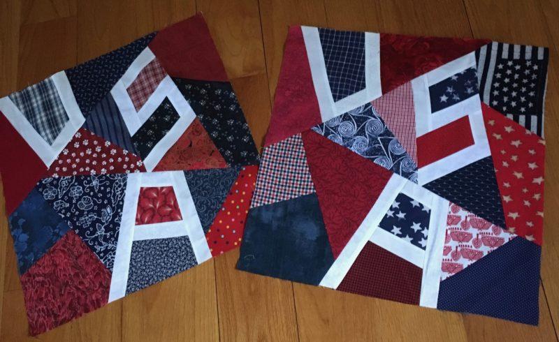 Georgia Bonesteel USA quilt blocks
