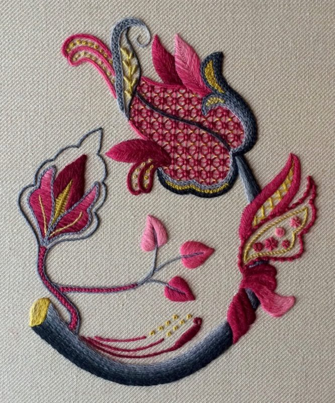 Spotlight: Sara Rickards, Embroidery Artist and Designer