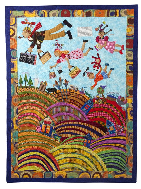 Traveling quilt