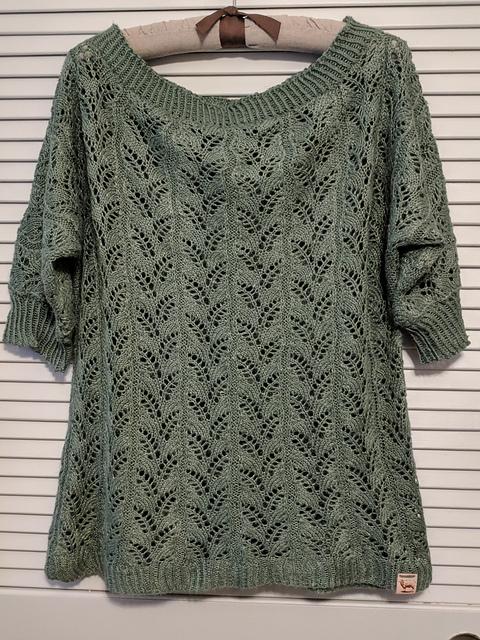 Karen Fletcher Georgie Redbud Pullover Sweater