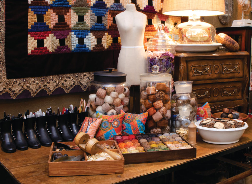 Brian Haggard Studio with Supplies