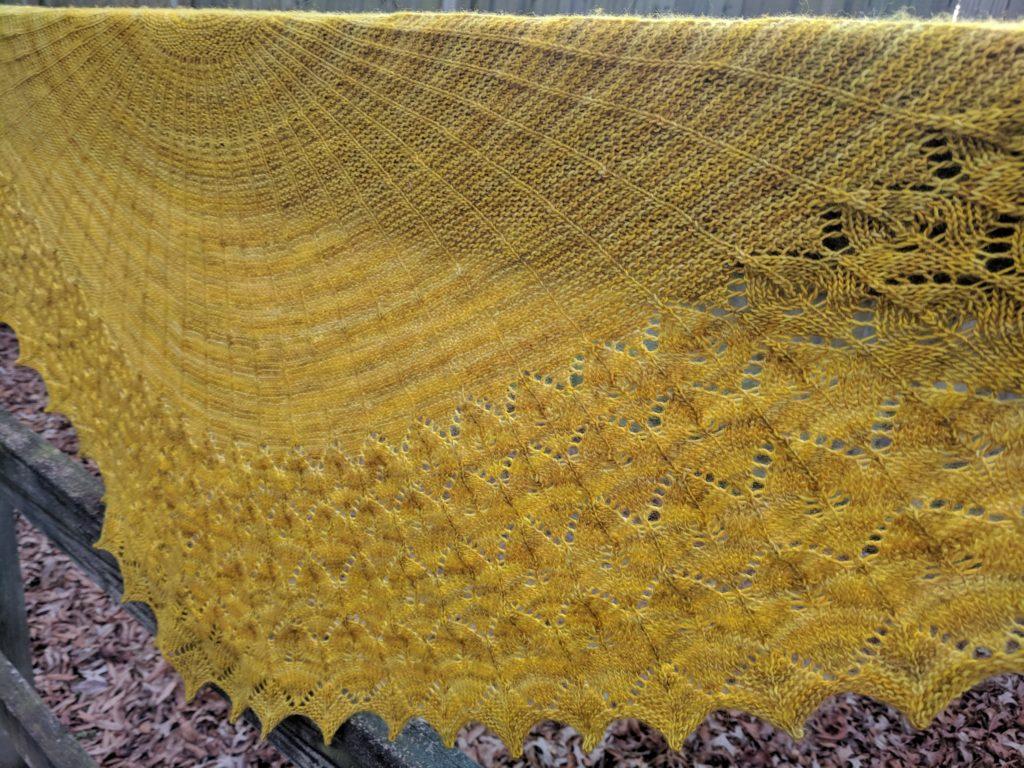 Karen Fletcher Willowbark knitting