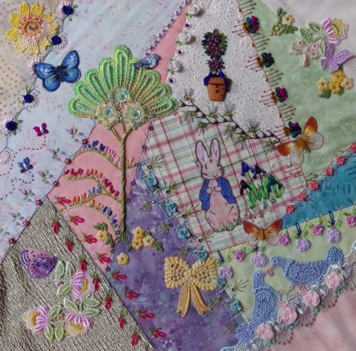 Spotlight: Kathy Seaman Shaw, Crazy Quilter